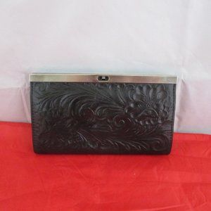 Patricia Nash Cauchy Tooled Leather Wallet